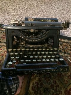 LC Smith and Bros. Typewriter, 1910 vintage