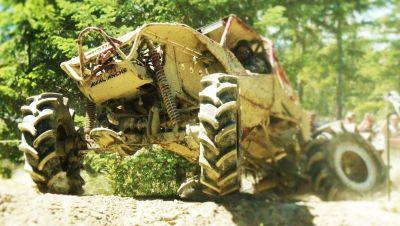 BKT R2 Deep lug AG tires and custom built AG rims