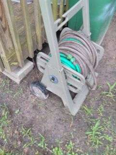 !water hose and reel