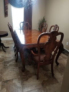 Solid Wood Formal Dining Table