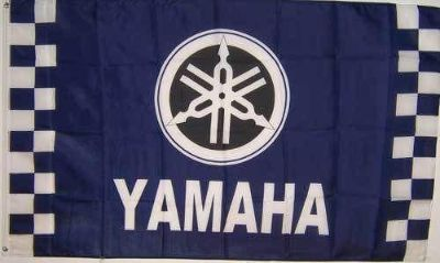 Sell Yamaha Moto Sign Flag 3' X 5' Advertising Checkered Banner Jc* motorcycle in Castle Rock, Washington, US, for US $18.99