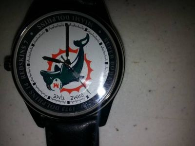 Vintage Miami Dolphins Watch