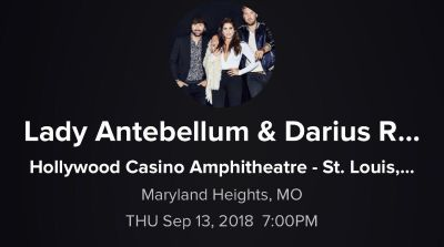 Lady Antebellum & Darius Rucker with Russell Dickerson