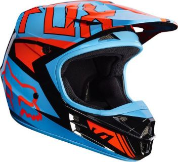 Buy 2017 FOX RACING V1 FALCON HELMET MOTOCROSS DIRTBIKE OFFROAD ADULT MX BLACK/ORG motorcycle in Palm Harbor, Florida, United States, for US $169.95