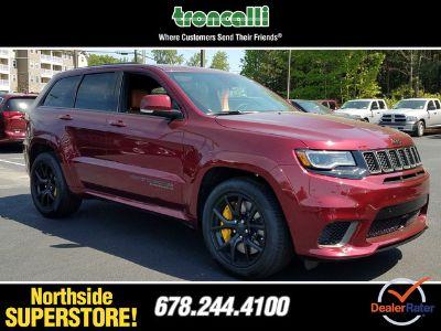 2018 Jeep Grand Cherokee TRACKHAWK 4X4 (Velvet Red Pearlcoat)
