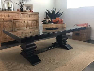 A Dark Rustic coffee table
