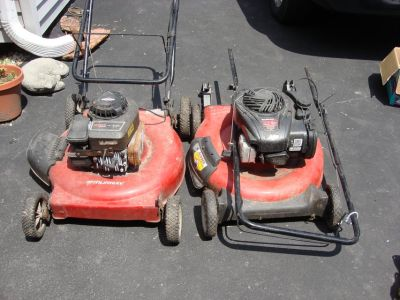 YOUR CHOICEOF LAWN MOWERS