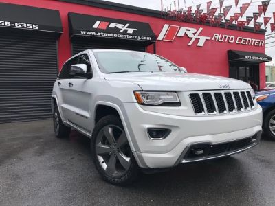 2014 Jeep Grand Cherokee Overland (Bright White Clearcoat)