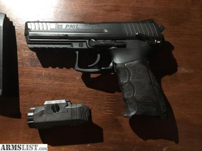 For Sale: HK P30L V3 w/ Inforce APL and Holster