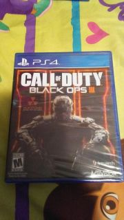 Brand New Sealed Call Of Duty Black Ops 3 No Holds Firm