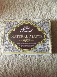 Too faces natural matte palette
