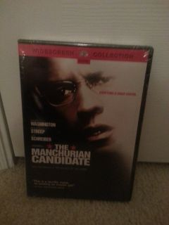 NIP The Manchurian Candidate dvd