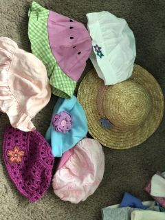 American Girl and Bitty Baby Hat lot