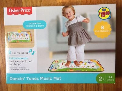 New Fisher-Price Piano Dance Tunes Music Mat toddler toy