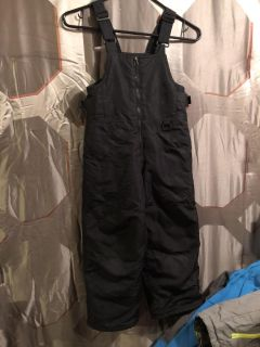 Boys snow pants overalls size 4/5 good condition