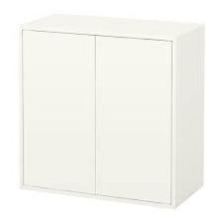 EKETCabinet with 2 doors and shelf, white 27 1/2W x 13 3/4D x 27 1/2H 203.339.51