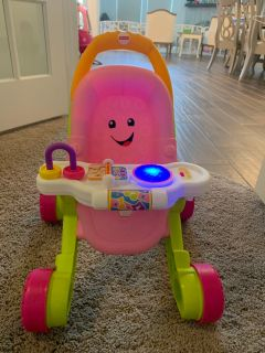 Baby stroller walker toy. Only One month old