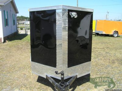Snapper Trailers : Enclosed Luggage Trailer 5x8 Single Axle