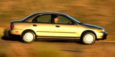 1998 Mazda Protege DX (Sunset Red Mica)