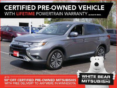 2019 Mitsubishi Outlander SE (Mercury Gray Metallic)