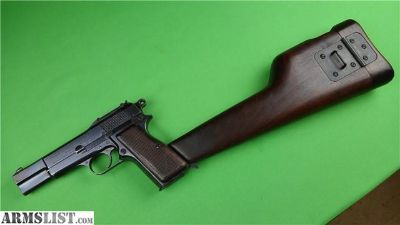 For Sale: FN M1935 High Power Very Early 1935