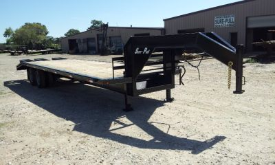 NEW 2013 SURE-PULL GOOSENECK TRAILER
