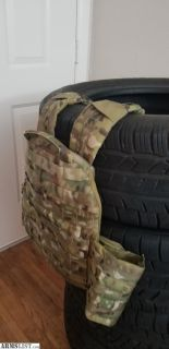 For Sale: Patrol Incident Gear Multicam Plate Carrier with Level III+ Armor and Armor Backing