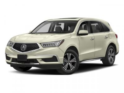 2018 Acura MDX (White Diamond Pearl)