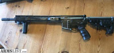 For Sale/Trade: Black Flag AR 15 battleworn