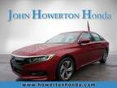 2018 Honda Accord Red, new
