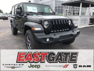 2018 Jeep Wrangler Unlimited Unlimited Sport S (Black Clearcoat)