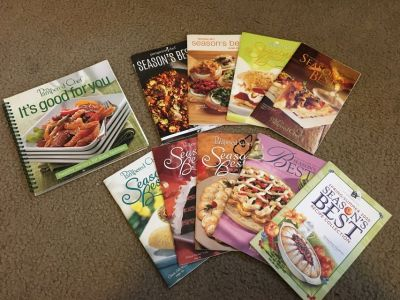 Pampered Chef Cookbooks