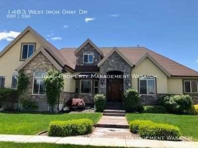 8 Bed 4.5 Bath- Gorgeous Bluffdale Home