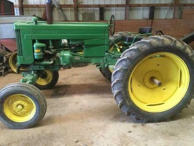 1954 John Deere 40 Tractor for sale in Niobrara, Nebraska.