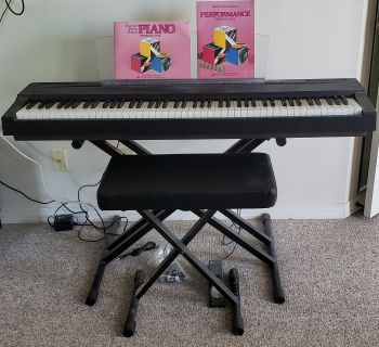 Yamaha Keyboard P70 plus accessories