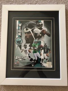 Eagles Michael Vick Framed Collectible