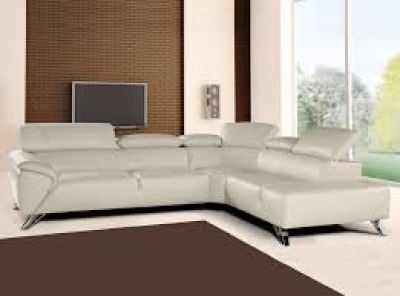 Nicoletti Tesla Leather Sectional Reg. $5000 Outlet $2499 WOW