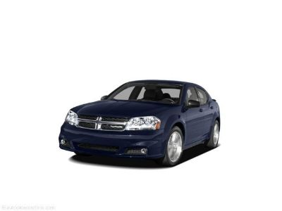 2011 Dodge Avenger Mainstreet (blackberry)