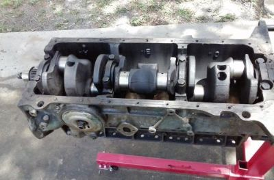 Sell 1958 ford 223 bare block engine with crank motorcycle in New Smyrna Beach, Florida, United States, for US $50.00