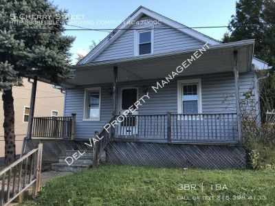 3-Bedroom Ranch Home for Rent Now - 5 Cherry Street - Fenced Back Yard