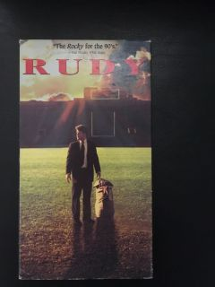 Rudy vhs
