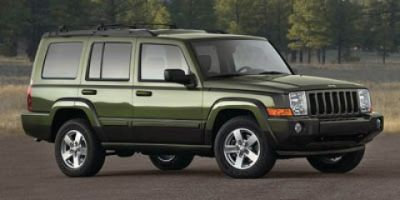 2008 Jeep Commander Base (Steel Blue Metallic)