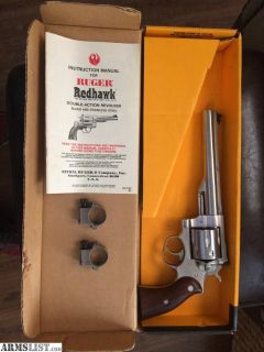 For Sale: Ruger SS RedHawk