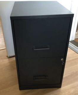 Metal File Cabinet with Lock