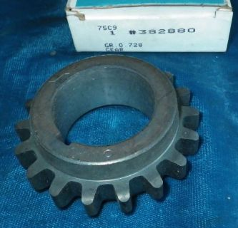 Purchase NOS 1964-1990 ENGINE CRANKSHAFT SPOCKET GM #382880 CADILLAC SEVILLE OLDS BUICK motorcycle in Huntington Beach, California, United States, for US $59.99