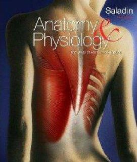 $35 Anatomy and Physiology: The Unity of Form and Function kenneth Saladin