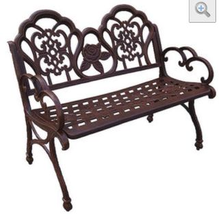 $100, New Sahara Outdoor Bench, Bronze Finish-153