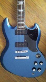 Agile Valkyrie SG Guitar w/P90s