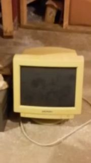 old time computer monitor