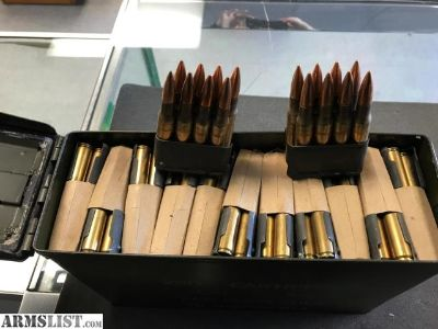 For Sale: lake city 30-06 M1 garand ammo